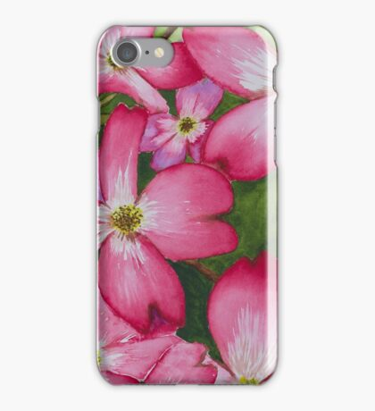 Pink Dogwood iPhone Case/Skin