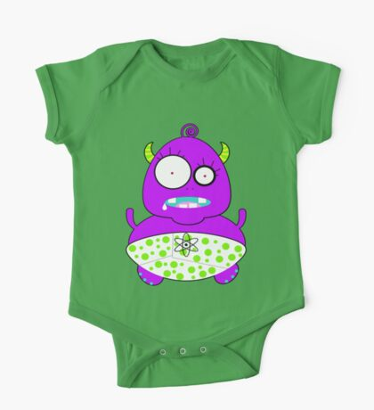 Monster Baby One Piece - Short Sleeve