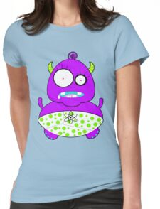 Monster Baby Womens Fitted T-Shirt
