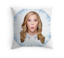 Comedian Amy Schumer Throw Pillow