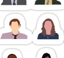 Dunder Mifflin Employee Headshots Sticker