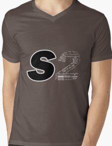 Castle S2 Mens V-Neck T-Shirt