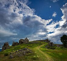 Partly cloudy by Lidija Lolic