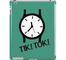Time is precious iPad Case/Skin