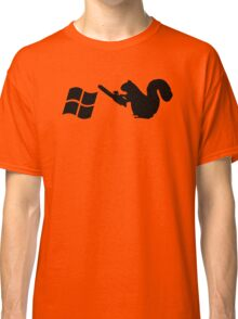Squirrels don't like Windows Classic T-Shirt