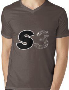 Castle S3 Mens V-Neck T-Shirt