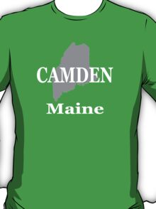 Camden Maine State City and Town Pride  T-Shirt