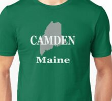 Camden Maine State City and Town Pride  Unisex T-Shirt