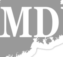 Camden Maine State City and Town Pride  Sticker