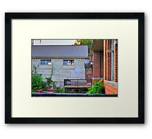 Place of Power Framed Print