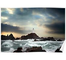 Corbiere Lighthouse, Jersey, Channel Islands Poster