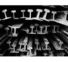 Rails #4 Photographic Print