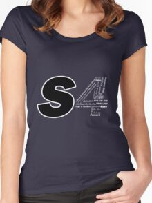 Castle S4 Women's Fitted Scoop T-Shirt