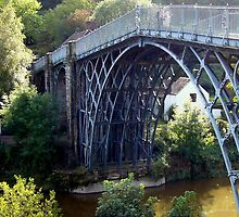 The Ironbridge at Coalbrookdale by Bluedamselfly