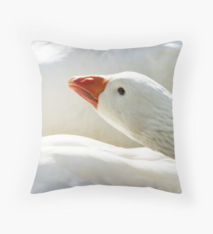 Take a gander Throw Pillow