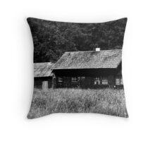 Hoh Cabin Throw Pillow