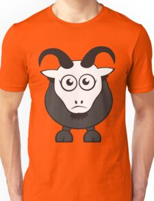 Grover The Goat in Grey Unisex T-Shirt