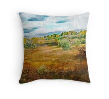 Somewhere In September Throw Pillow