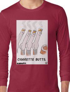 Cigarette Butts. Long Sleeve T-Shirt