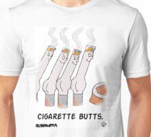 Cigarette Butts. Unisex T-Shirt
