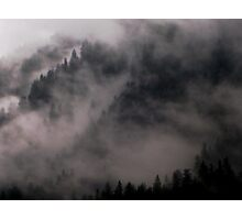 Hill fog Photographic Print