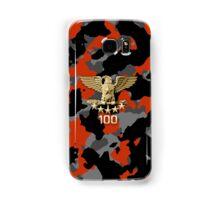 Orange Camouflage Samsung Galaxy Case/Skin