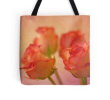 A bokeh of roses Tote Bag