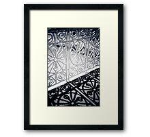 Shadow Dance Framed Print