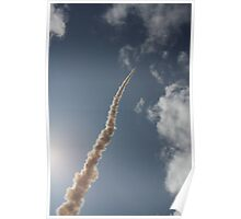 Rocket Launch 2 - skywards Poster