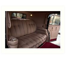 1941 Lincoln Continental City Limousine owned by Henry Ford Art Print
