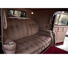 1941 Lincoln Continental City Limousine owned by Henry Ford Photographic Print