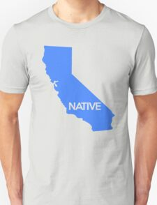 California Native Pride CA Blue T-Shirt