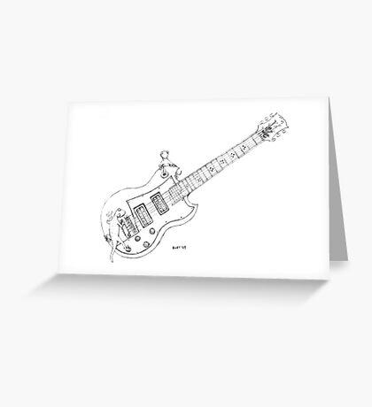 Gibson Geckos Greeting Card