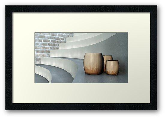 Stepping Back by Ostar-Digital