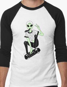 Sick alien  Men's Baseball ¾ T-Shirt
