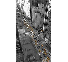 The Yellow Blood in NYC's Veins Photographic Print