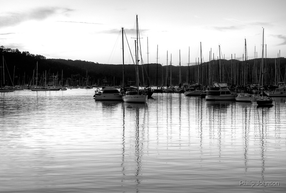 It's All Black And White - Newport, Sydney - The HDR Experience by Philip Johnson