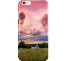 Sunset in Rear Intervale iPhone Case/Skin