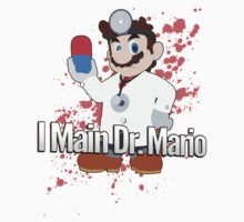 I Main Dr. Mario - Super Smash Bros. by PrincessCatanna