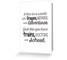 Book Life Greeting Card