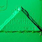 Green Triangle by James  Birkbeck Abstracts