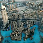 View from Burj Khalifa, Dubai by mojgan