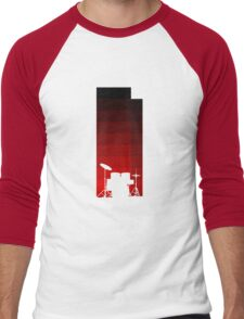 Red Drums Men's Baseball ¾ T-Shirt
