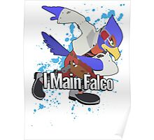 I Main Falco - Super Smash Bros. Poster