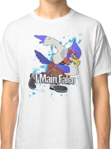 I Main Falco - Super Smash Bros. Classic T-Shirt