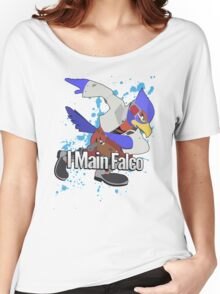 I Main Falco - Super Smash Bros. Women's Relaxed Fit T-Shirt