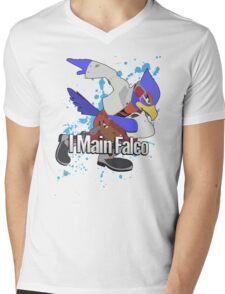 I Main Falco - Super Smash Bros. Mens V-Neck T-Shirt