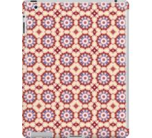 Patriotic Red, White and Blue Spinning Wheels iPad Case/Skin
