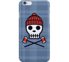 Skull Series LUMBERSCOUT iPhone Case/Skin