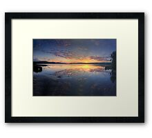 At Rest - Narrabeen Lakes, Sydney - The HDR Experience Framed Print